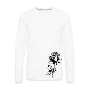 Rose - Men's Premium Longsleeve Shirt