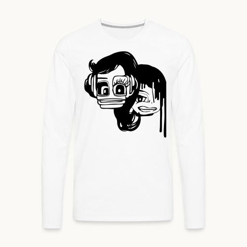 Anita and Kim - T-shirt manches longues Premium Homme