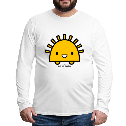 SUNNY - Miesten premium pitkähihainen t-paita