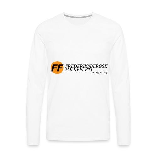 Din by, dit valg - Premium - Herre premium T-shirt med lange ærmer