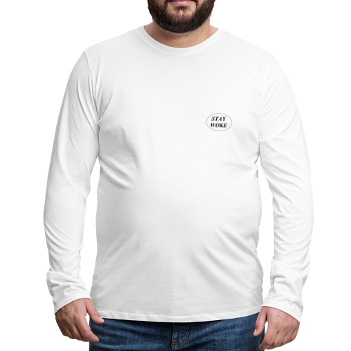 STAYWOKE - Mannen Premium shirt met lange mouwen
