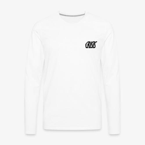 CRISIS black - T-shirt manches longues Premium Homme