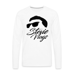 Stevie Vlogs Logo - Men's Premium Longsleeve Shirt