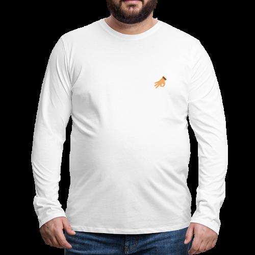 OKE - Mannen Premium shirt met lange mouwen