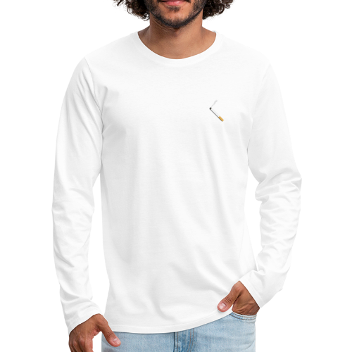 PEUK - Mannen Premium shirt met lange mouwen