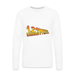 1.21 Gigawatts - Männer Premium Langarmshirt