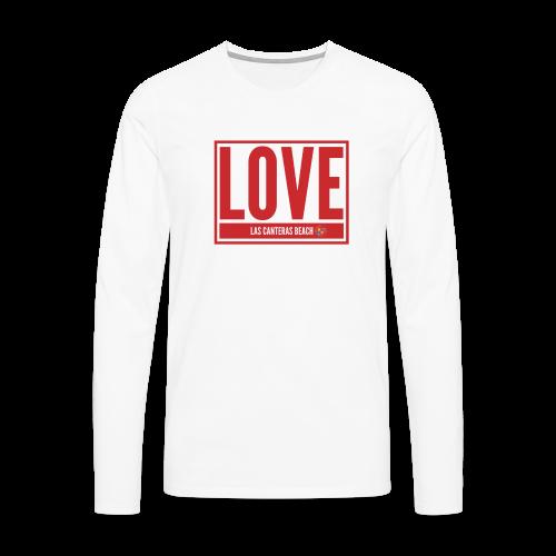Love Las Canteras - Camiseta de manga larga premium hombre