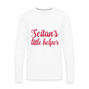 Seitan's Little Helper - Men's Premium Longsleeve Shirt
