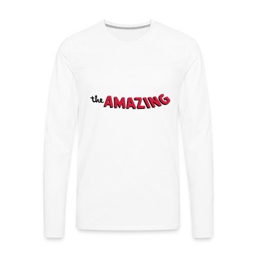 Amazing - Mannen Premium shirt met lange mouwen