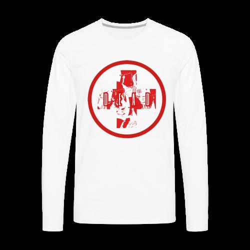 DEAD INARI RED - Men's Premium Longsleeve Shirt