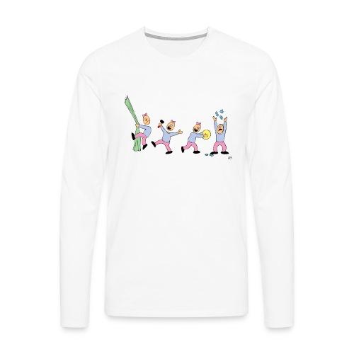 toern babybody - Premium langermet T-skjorte for menn