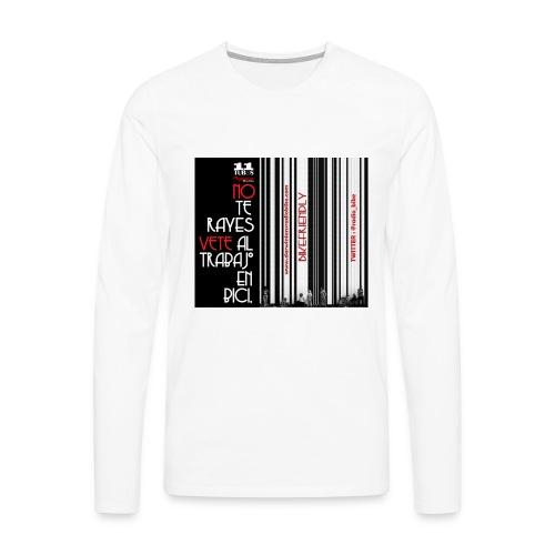041 Hacer las paces - Camiseta de manga larga premium hombre