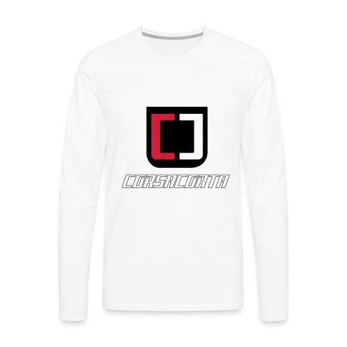 Premium - Corsacorta - Maglietta Premium a manica lunga da uomo