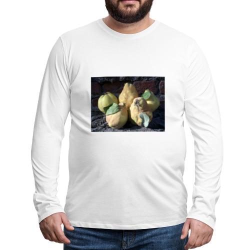 Quitten - Männer Premium Langarmshirt