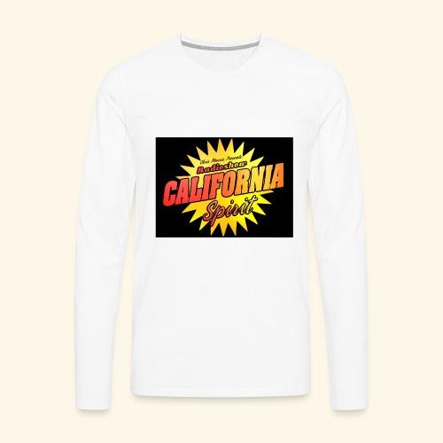 California Spirit Radioshow Vintage - T-shirt manches longues Premium Homme