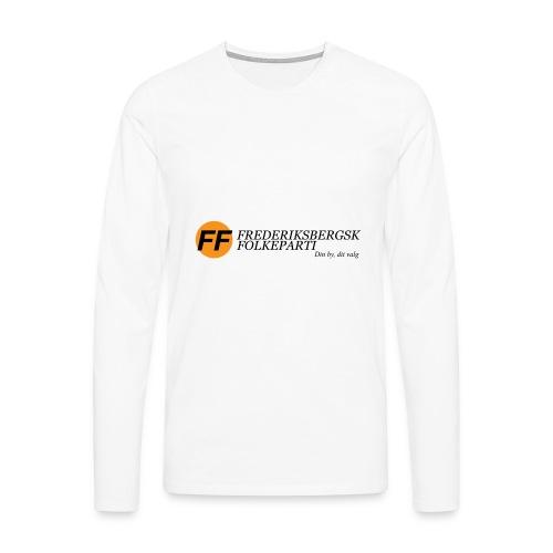 Din by, dit valg - Bestsellere - Herre premium T-shirt med lange ærmer