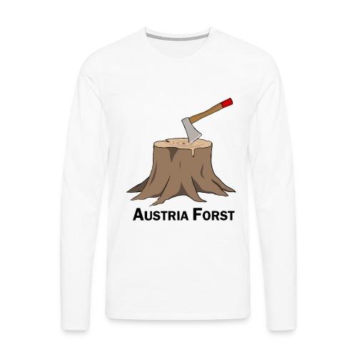 Baumstumpf - Männer Premium Langarmshirt