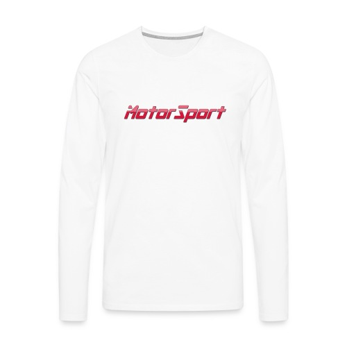 MotorSport - T-shirt manches longues Premium Homme