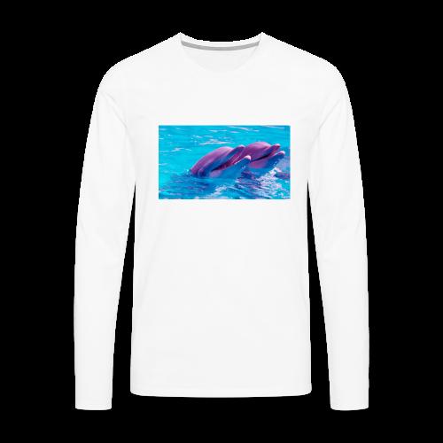 DOLFIN - Herre premium T-shirt med lange ærmer