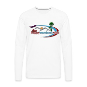 The Happy Wanderer Club - Men's Premium Longsleeve Shirt