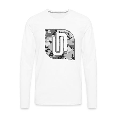 Unitwear – Camo UN Tshirt - Mannen Premium shirt met lange mouwen
