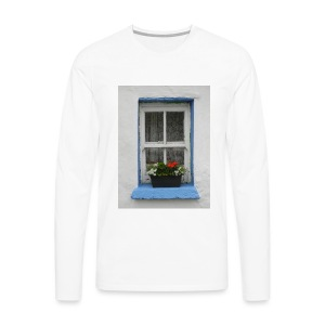 Cashed Cottage Window - Men's Premium Longsleeve Shirt