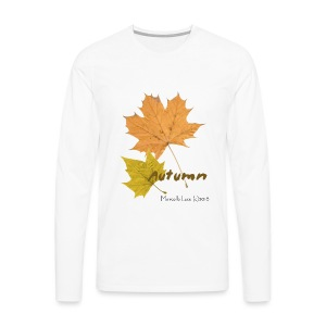 Streetworker art by Marcello Luce - autumn 2018 - Männer Premium Langarmshirt