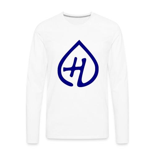Hangprinter logo - Långärmad premium-T-shirt herr