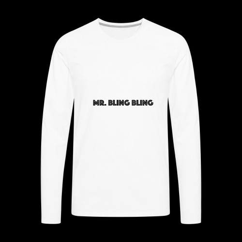 bling bling - Männer Premium Langarmshirt