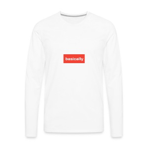 Basically merch - Men's Premium Longsleeve Shirt