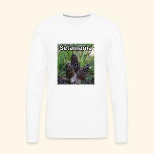 Colmenillas setamania - Camiseta de manga larga premium hombre