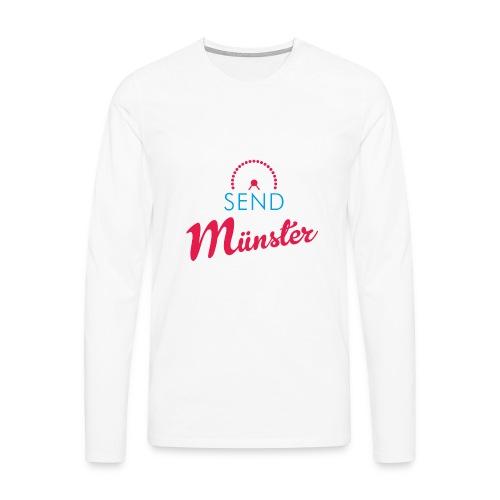 Send Münster - Männer Premium Langarmshirt