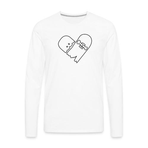 Broken Skateboard - Men's Premium Longsleeve Shirt