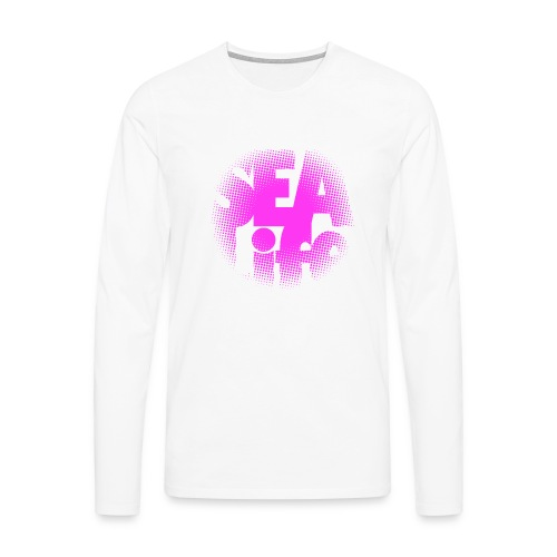 Sealife surfing tees, clothes and gifts FP24R01B - Miesten premium pitkähihainen t-paita