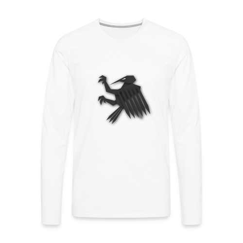 Nörthstat Group ™ Black Alaeagle - Men's Premium Longsleeve Shirt
