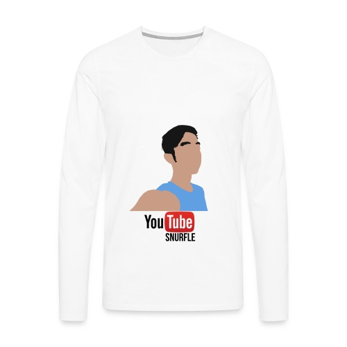 dobbel Logo - Men's Premium Longsleeve Shirt
