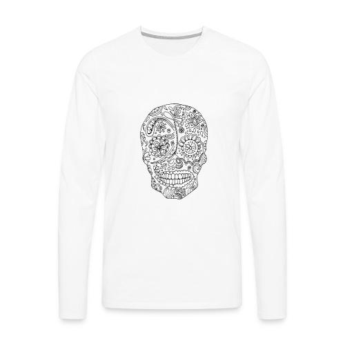 Sugar Skull - T-shirt manches longues Premium Homme