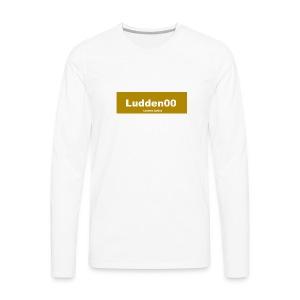 Limeted edition Ludden00 - Långärmad premium-T-shirt herr