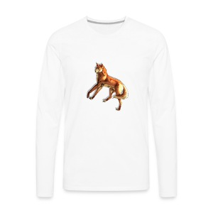 Fox of the night - Men's Premium Longsleeve Shirt