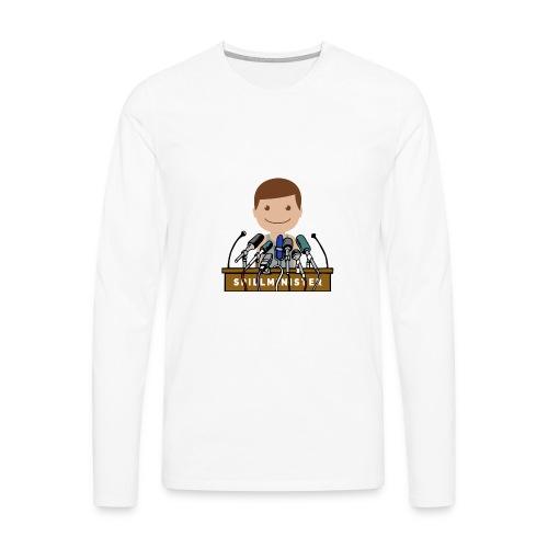 Spillminister logoen - Premium langermet T-skjorte for menn