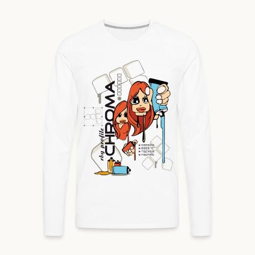 Chroma - T-shirt manches longues Premium Homme