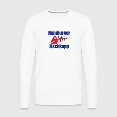 Hamburger Fischkopp - Männer Premium Langarmshirt