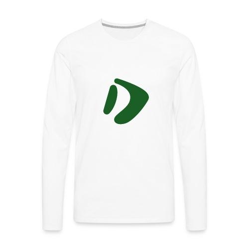 Logo D Green DomesSport - Männer Premium Langarmshirt