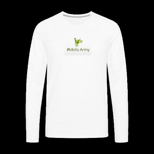 Mofa Army (Grün) - Männer Premium Langarmshirt