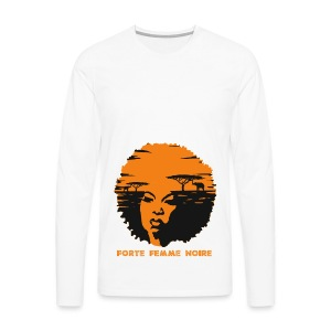 Strong Black Woman - Männer Premium Langarmshirt