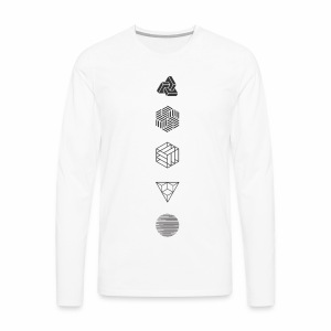 Mr. Project 0.2 - Mannen Premium shirt met lange mouwen