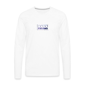 Mug logo purple - Men's Premium Longsleeve Shirt