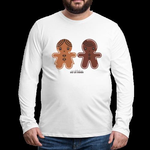 GINGERBREADS - Miesten premium pitkähihainen t-paita