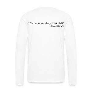 Ju jutsu kai förslag 1 version 1 svart text - Långärmad premium-T-shirt herr