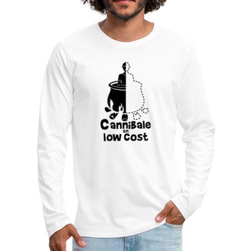 Cannibale en Low Cost - T-shirt manches longues Premium Homme